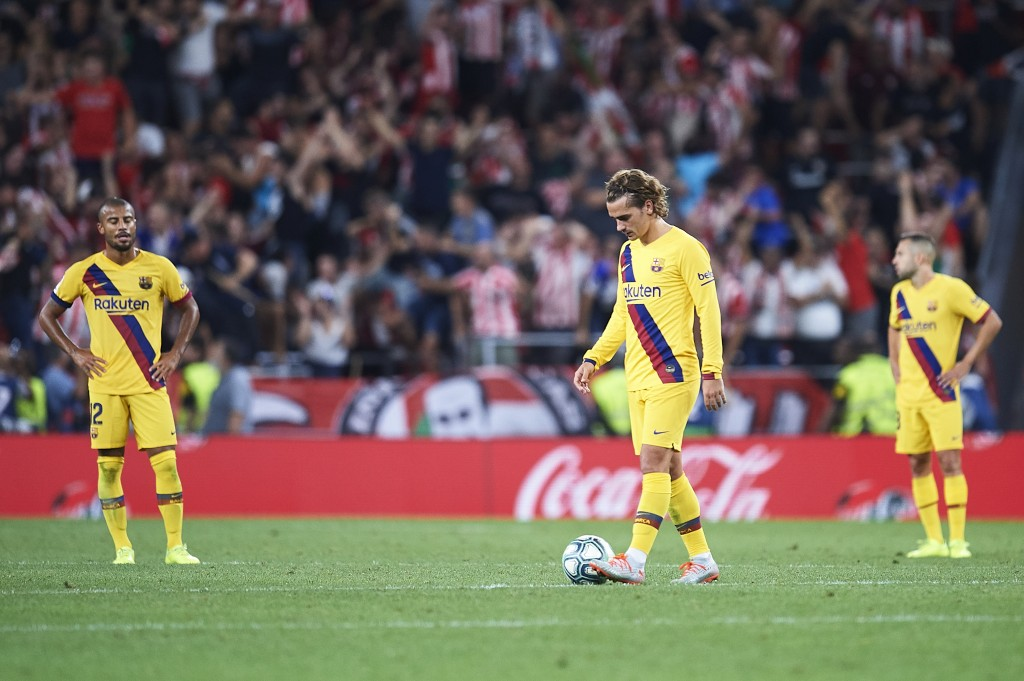Barcelona need to quickly move on from their disappointing defeat at Athletic Bilbao last week. (Photo by Juan Manuel Serrano Arce/Getty Images)