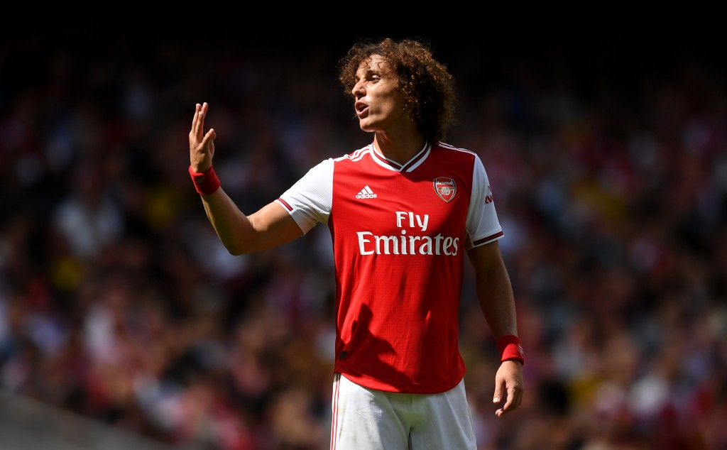 David Luiz, Marí, Soares and Ceballos will continue at Arsenal