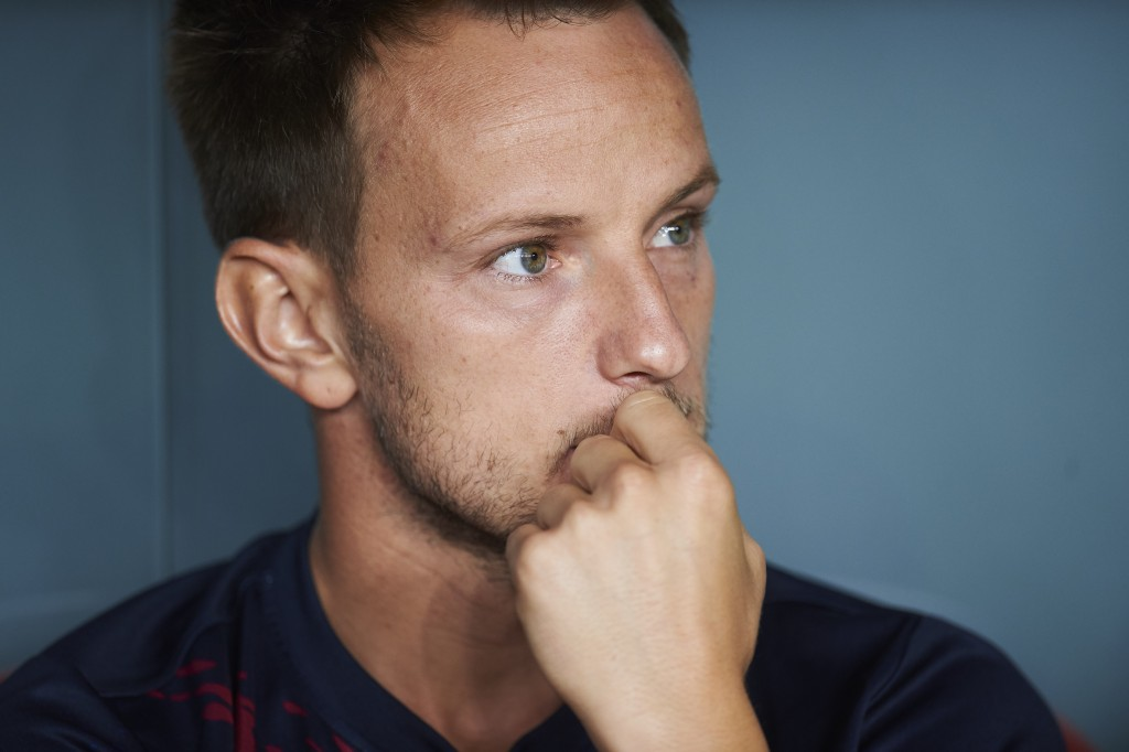 What next for Rakitic? (Photo by Juan Manuel Serrano Arce/Getty Images)
