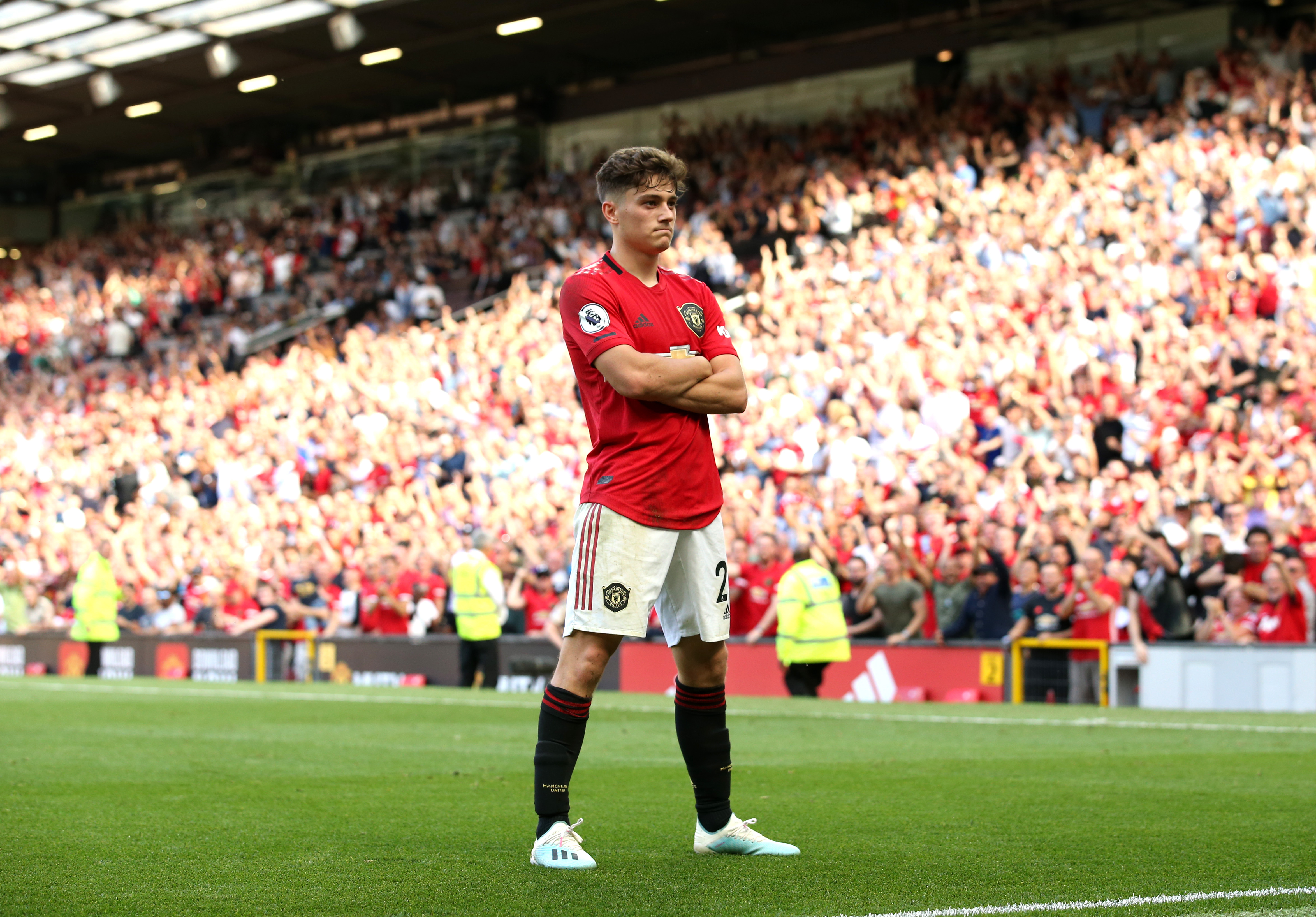 James made a blistering start to life at Manchester United. (Photo by Jan Kruger/Getty Images)
