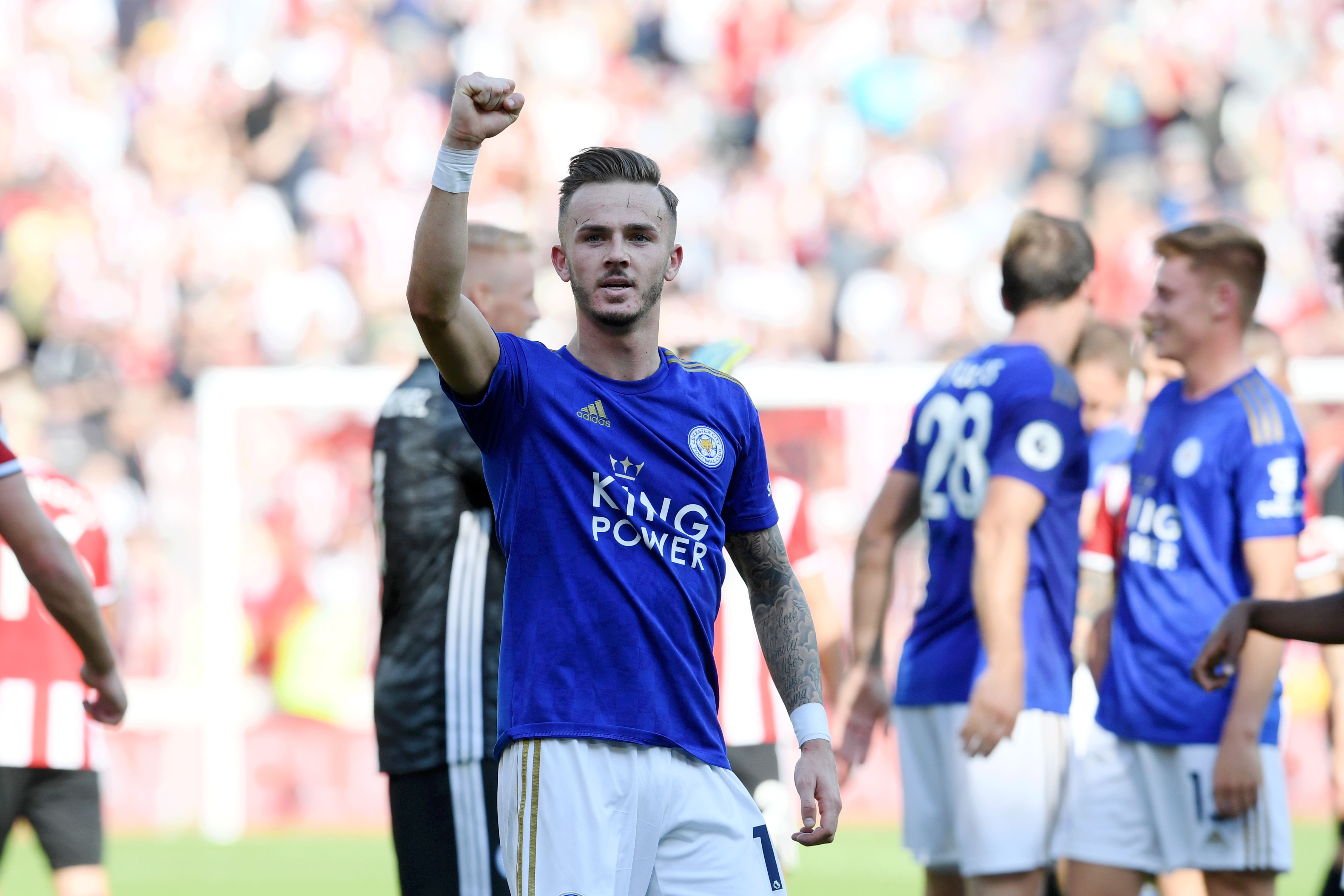 James Maddison's has been immense for the Foxes this season (Picture Courtesy - AFP/Getty Images)