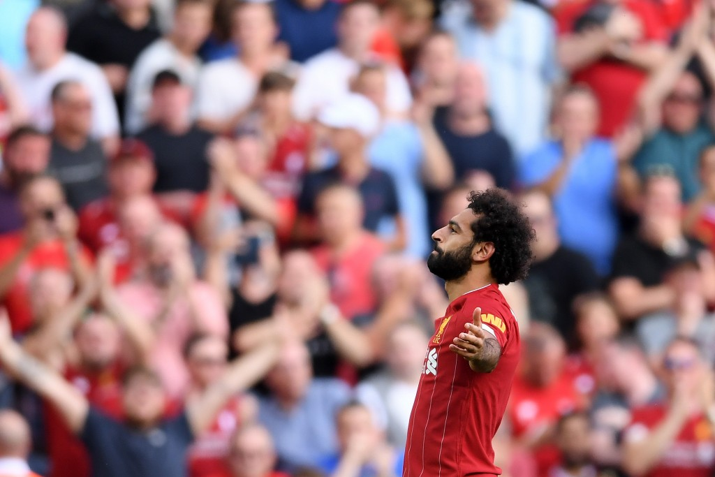 Salah was the cream of the crop on Matchday 3 of the Premier League. (Picture Courtesy - AFP/Getty Images)