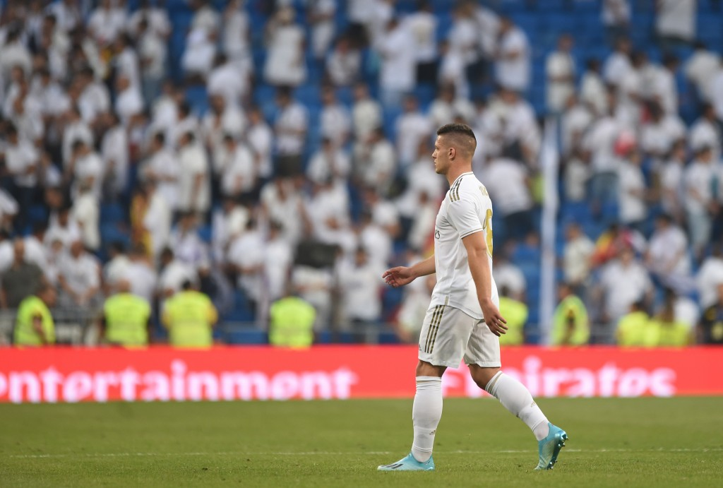 Is Luka Jovic on his way out of Real Madrid? (Photo by Denis Doyle/Getty Images)