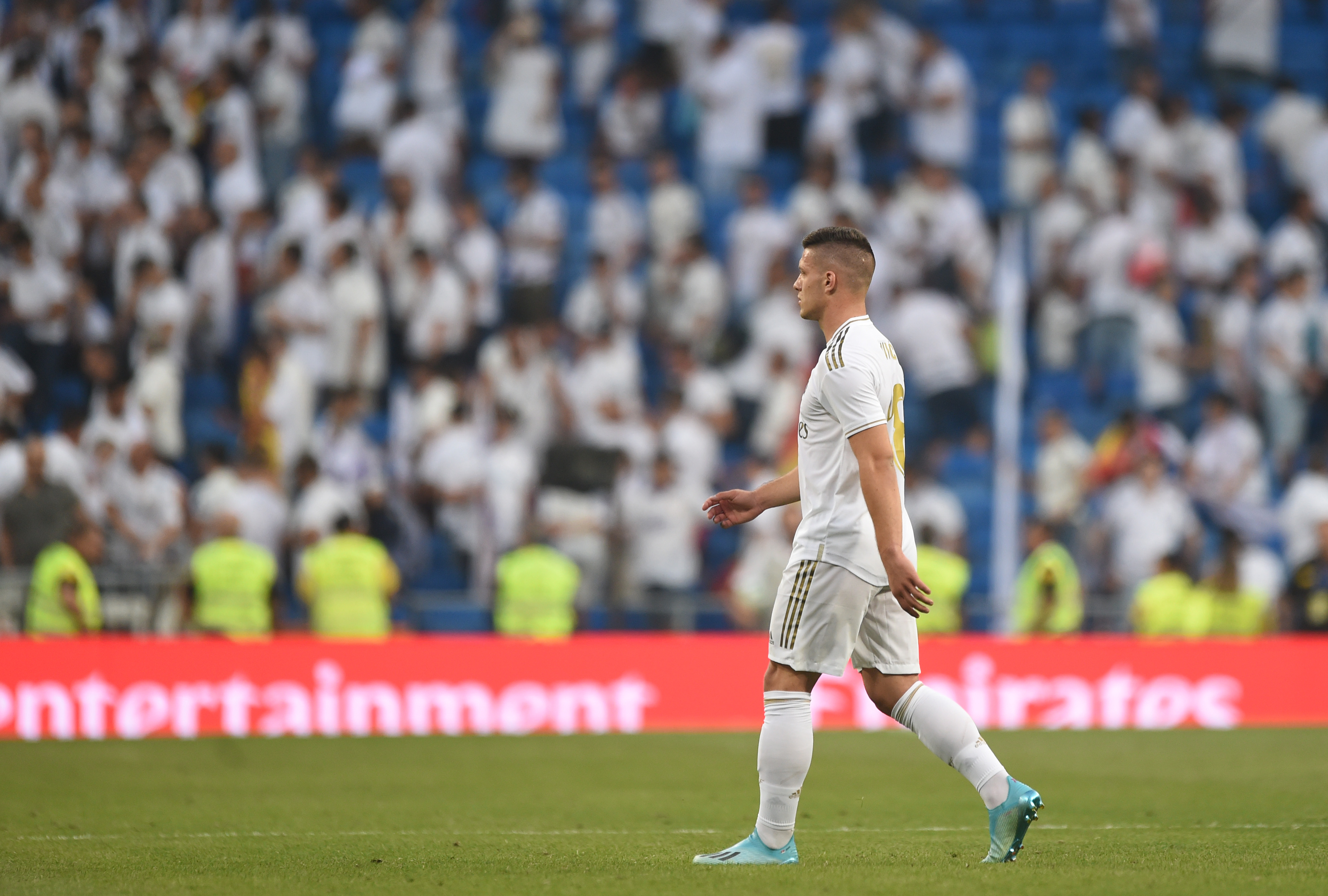 Luka Jovic on his way out of Real Madrid? (Photo by Denis Doyle/Getty Images)