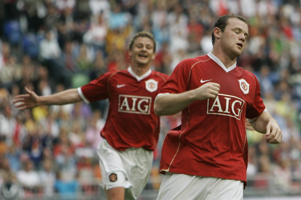 Could Rooney be reunited with Ole Gunnar Solskjaer in the future? (Photo by Maartje Blidenstein/AFP/Getty Images)