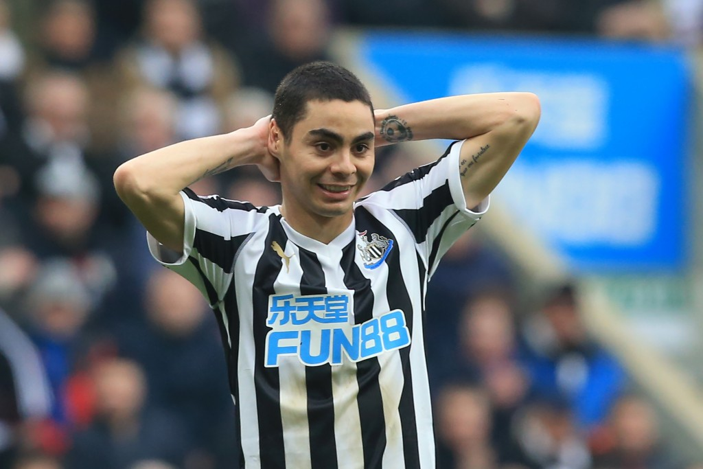 Almiron has been in red hot form in the FA Cup (Photo by Lindsey Parnaby/AFP/Getty Images)