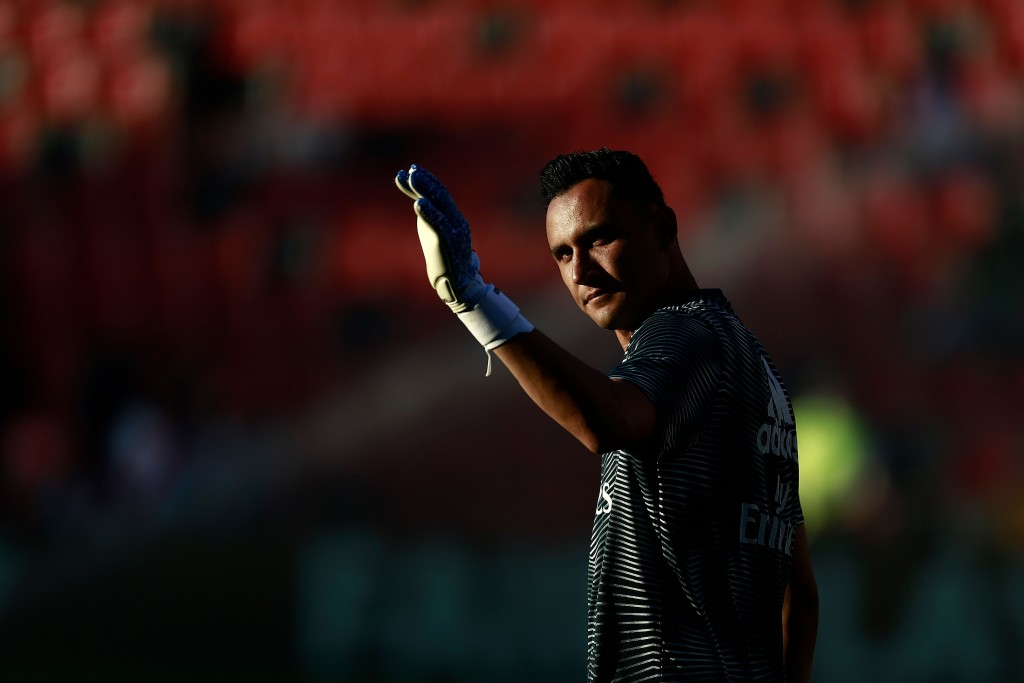 Keylor Navas was shipped out as Thibaut Courtois became the undisputed first (Photo by Benjamin Cremel/AFP/Getty Images)