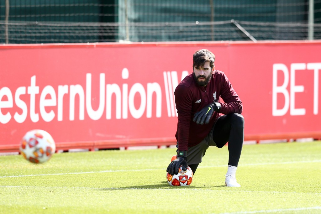 Alisson is inching closer to his return. (Photo by Jan Kruger/Getty Images)