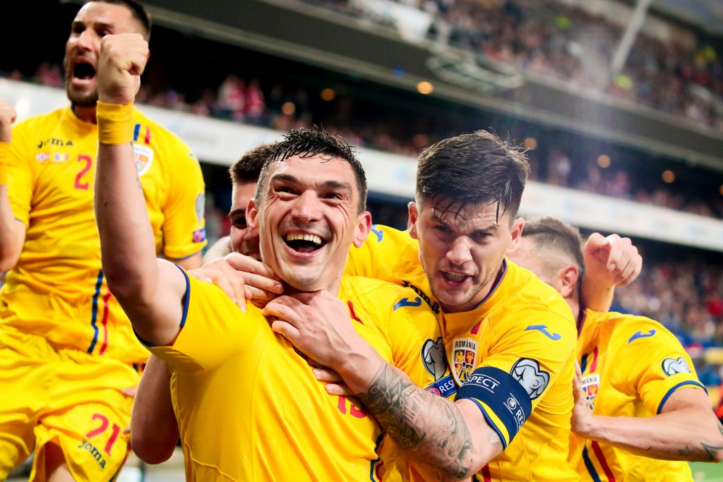 Romania have been on a roll since being beaten by Sweden. (Photo by Lise Aserud/AFP/Getty Images)