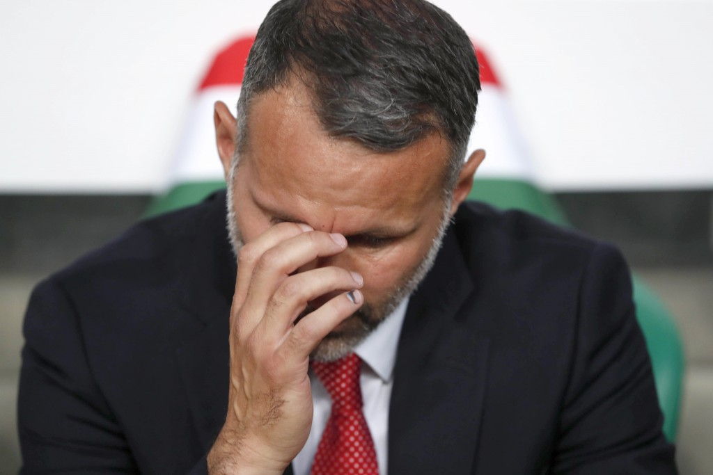 Ryan Giggs will be looking to rally his troops after back-to-back losses in June. (Photo by Laszlo Balogh/Getty Images)