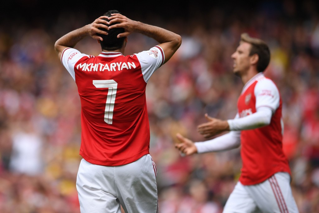 Mkhitaryan just could not click at Arsenal. (Photo by Ben Stansall/AFP/Getty Images)