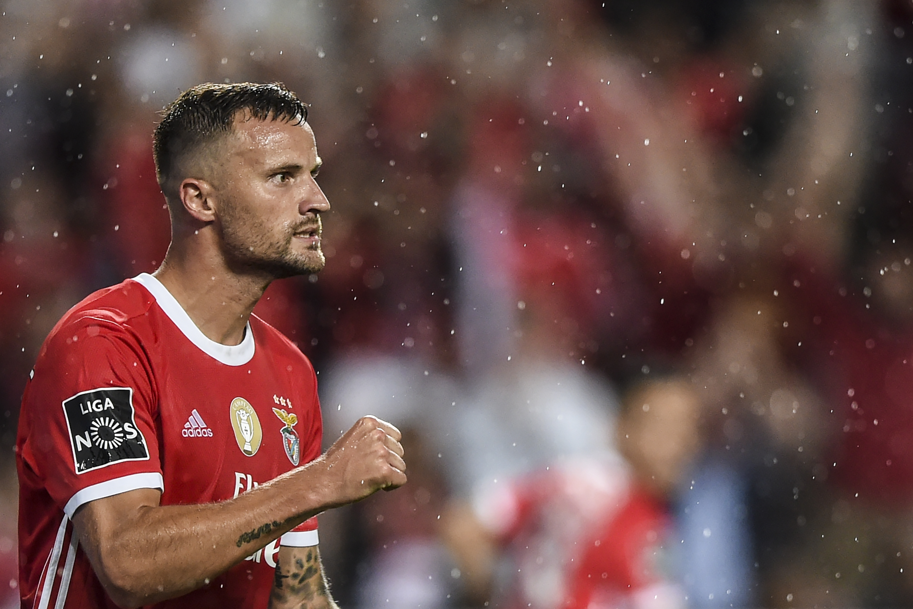 Haris Seferovic could be dropped after underwhelming performances (Photo by PATRICIA DE MELO MOREIRA/AFP/Getty Images)