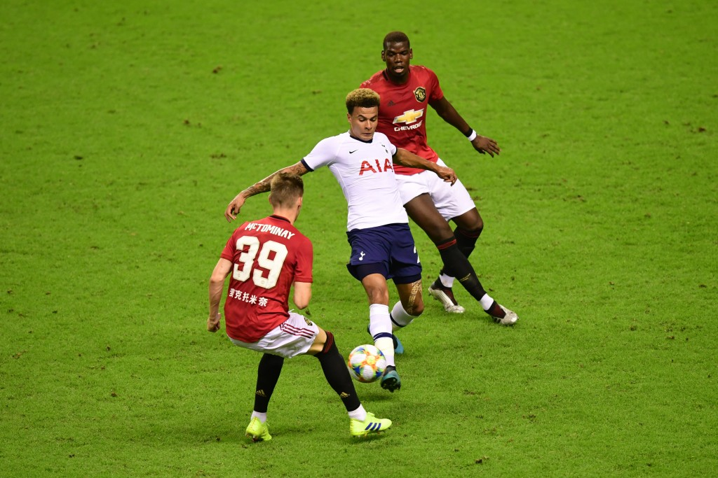 There is very little quality beyond Pogba and McTominay. (Photo by Di Yin/Getty Images)