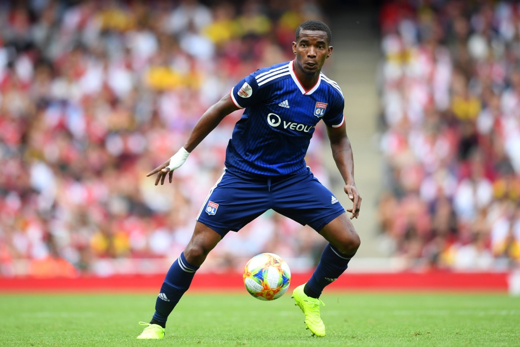 LONDON, ENGLAND - JULY 28: Thiago Mendes of Lyon in action during the Emirates Cup match between Arsenal and Olympique Lyonnais at the Emirates Stadium on July 28, 2019 in London, England. (Photo by Michael Regan/Getty Images)