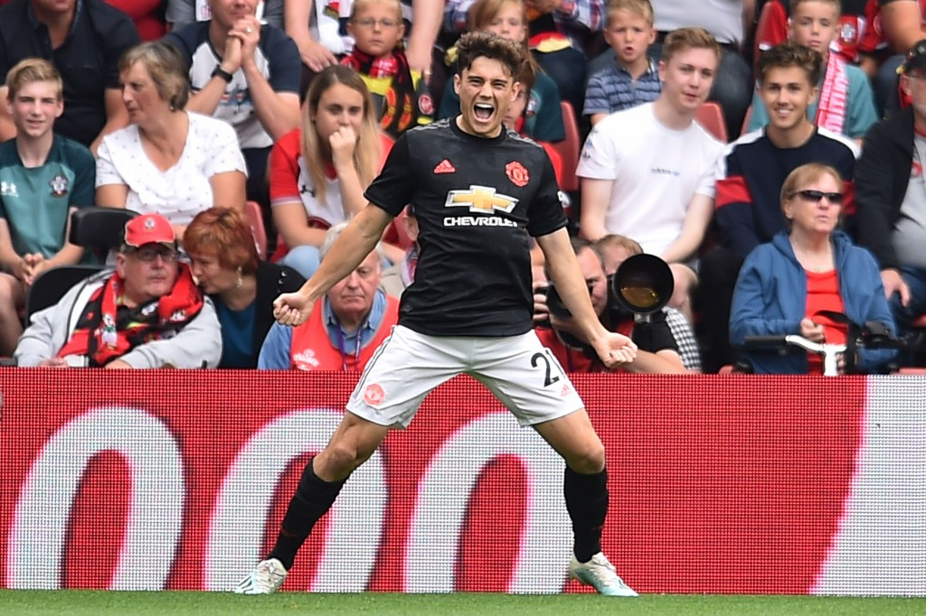 Daniel James can do no wrong at the moment. (Photo by Glyn Kirk/AFP/Getty Images)