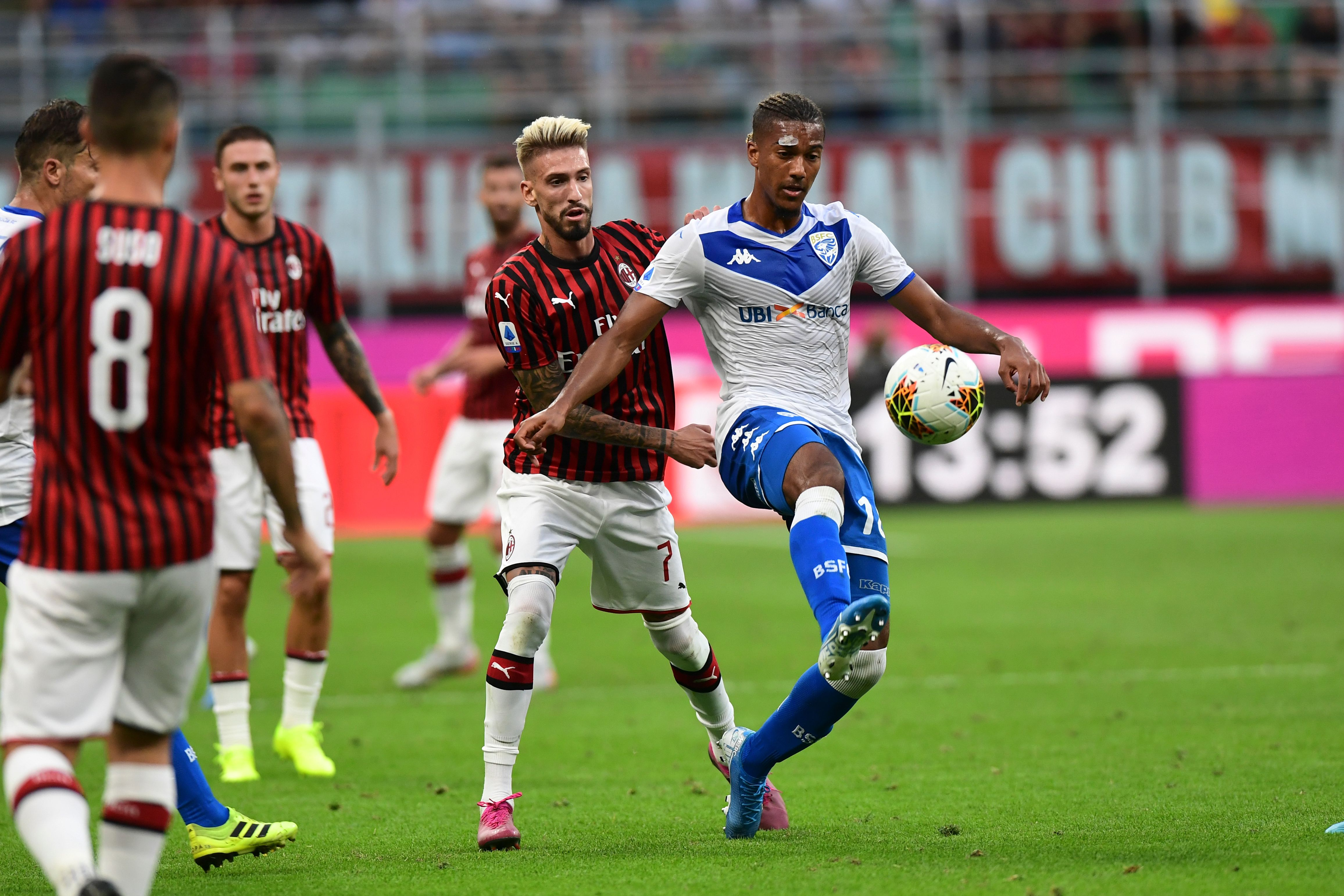 Castillejo has been a disappointment at AC Milan (Picture Courtesy - AFP/Getty Images)