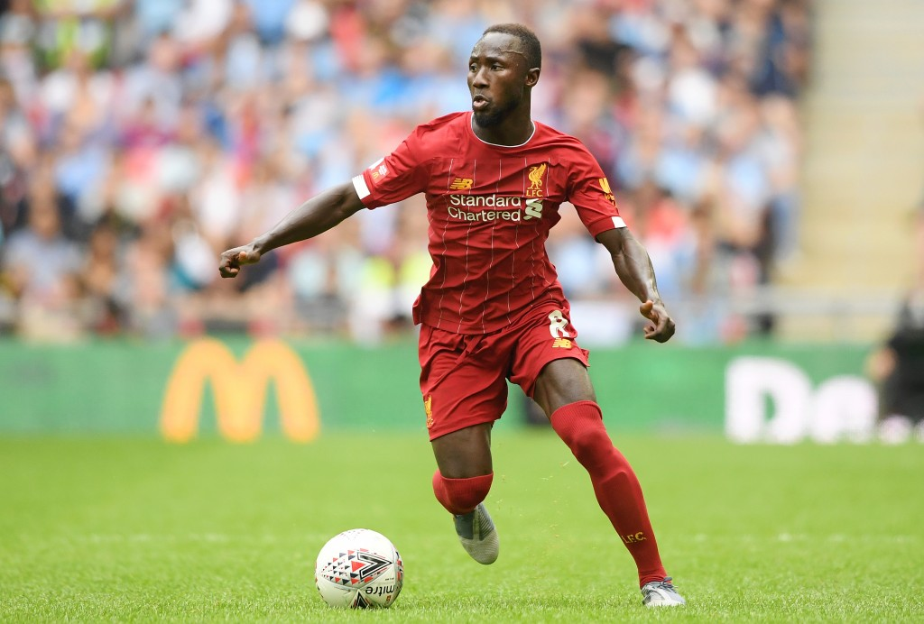 Naby Keita is fit and available. (Photo by Michael Regan/Getty Images)