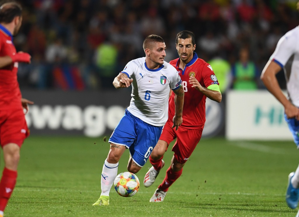 Verratti ruled out for Italy (Photo by Claudio Villa/Getty Images)