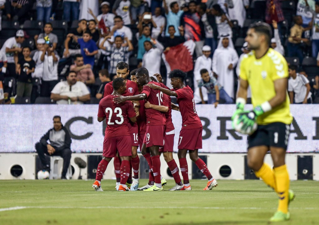 Qatar breezed their way to a 6-0 win over Afghanistan last week. (Photo courtesy -AFP/Getty Images)