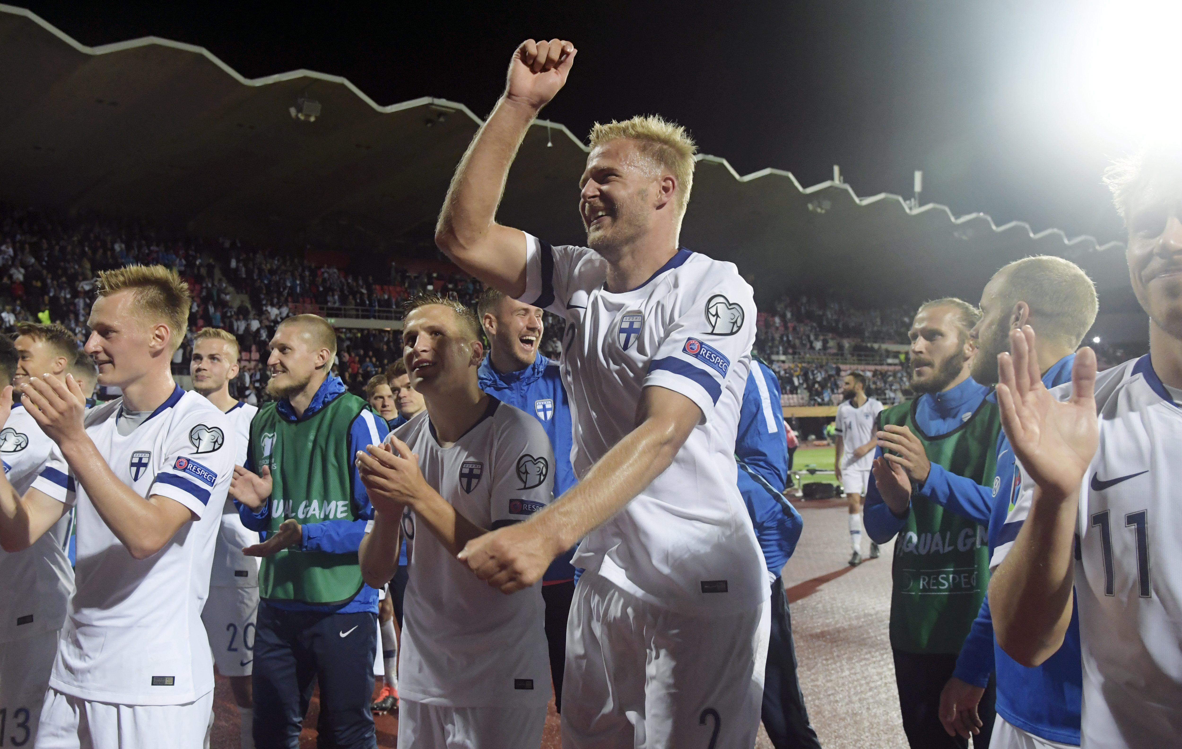 Finland will be making their Euro debut (Photo by Markku Ulander/AFP/Getty Images)