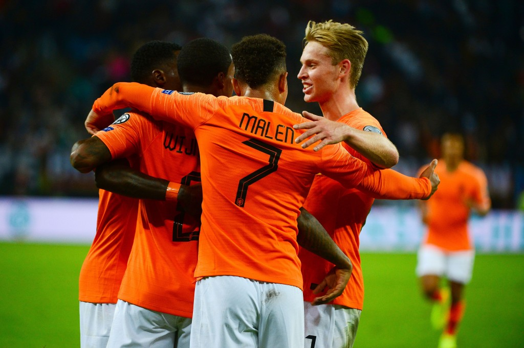 Netherlands made a statement with their 4-2 win over Germany. (Photo by Patrik Stollarz/AFP/Getty Images)