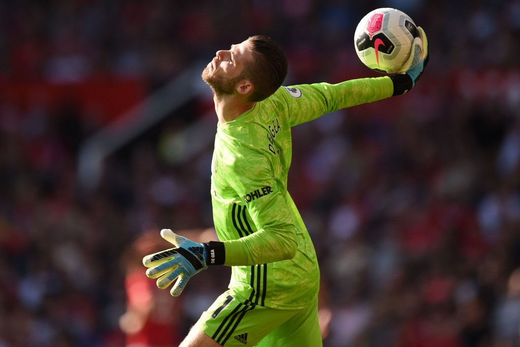A return to form for de Gea (Photo by Oli Scarff/AFP/Getty Images)