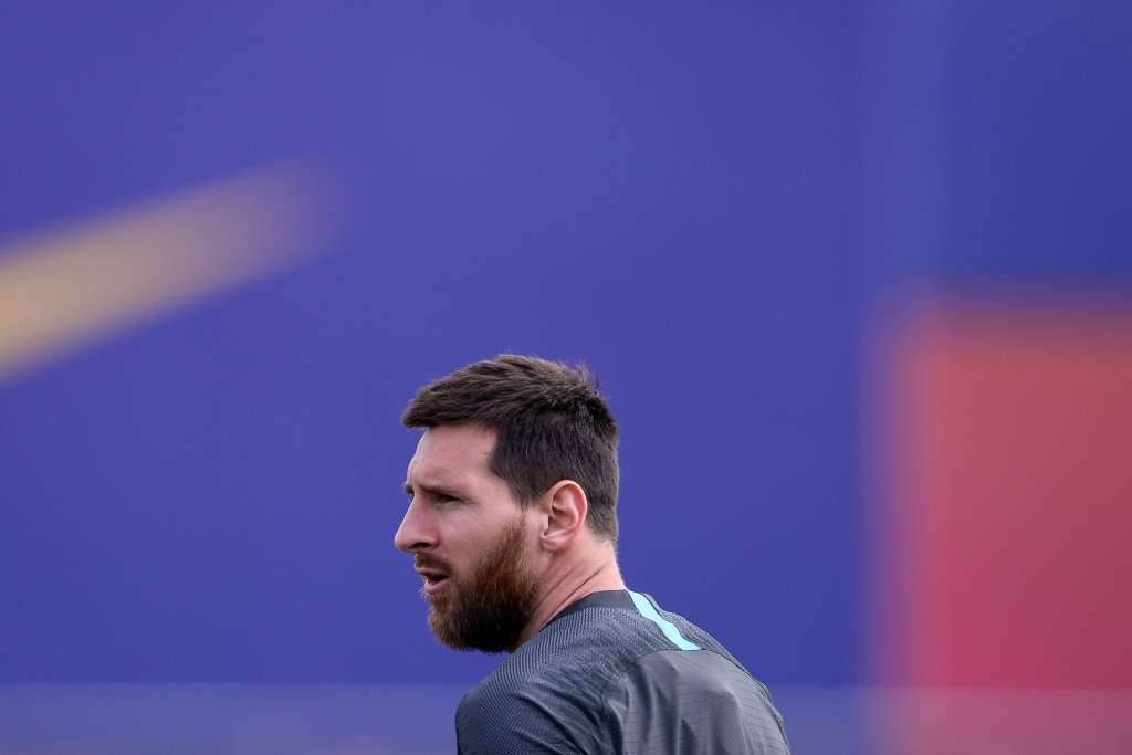 Lionel Messi might not be ready to start a game for PSG just yet. (Photo by Pau Barrena/AFP/Getty Images)