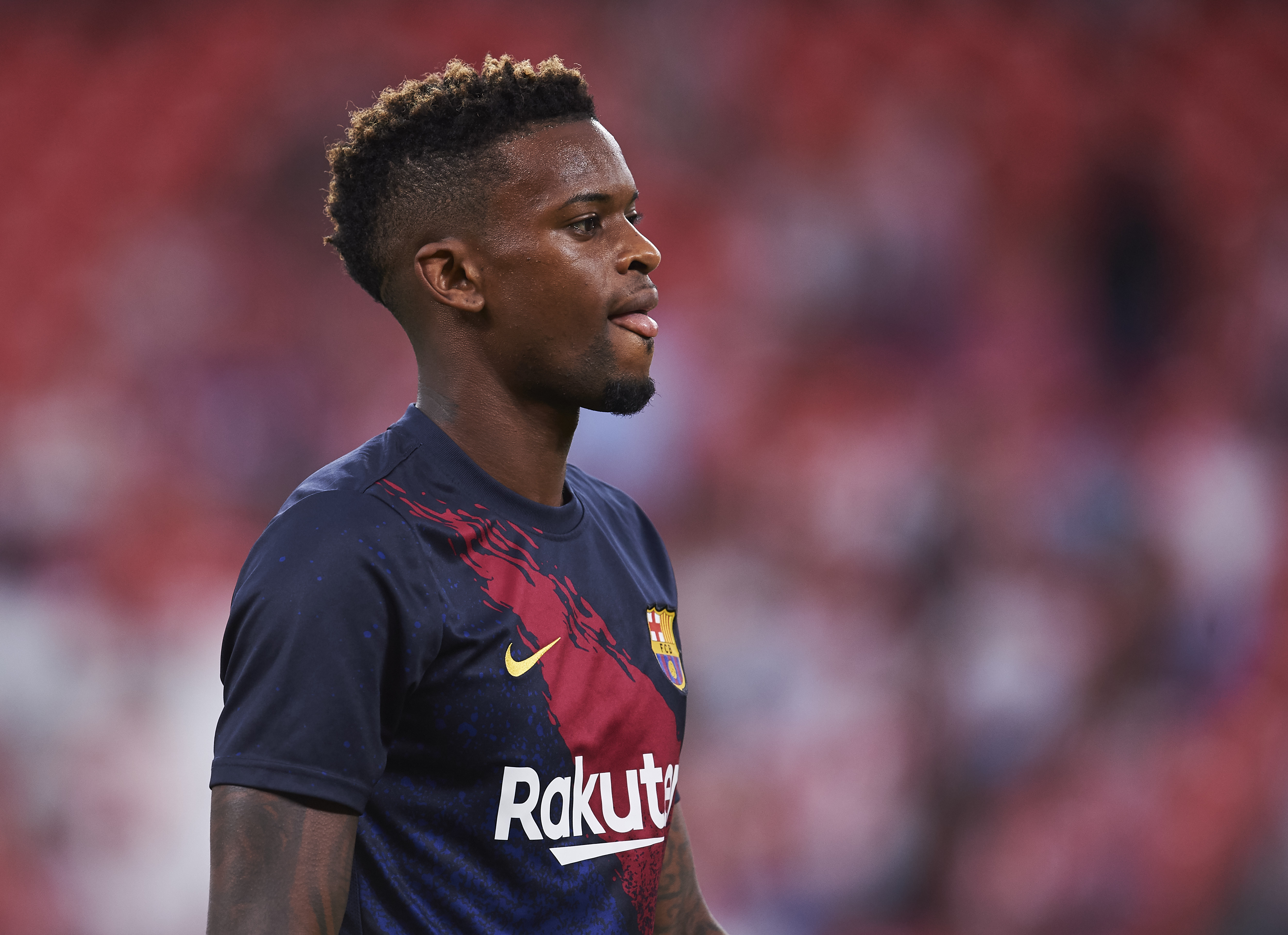 Could Nelson Semedo be playing to Manchester City next season? (Photo by Juan Manuel Serrano Arce/Getty Images)