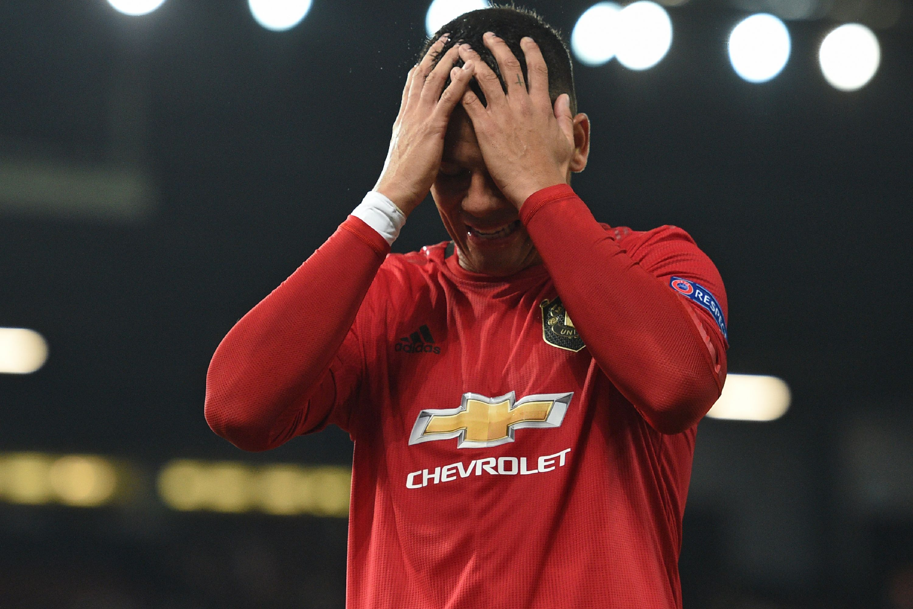 Rojo on his way back to Argentina? (Photo by Oli Scarff/AFP/Getty Images)