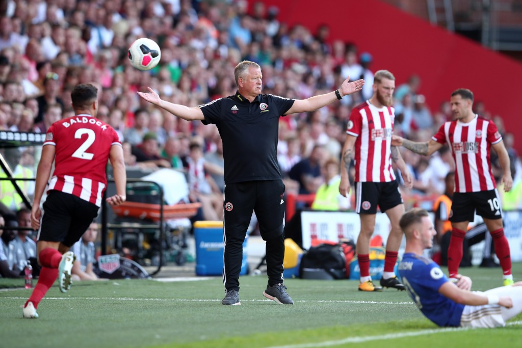 Sheffield United have not looked out of place at all so far. (Picture Courtesy - AFP/Getty Images)