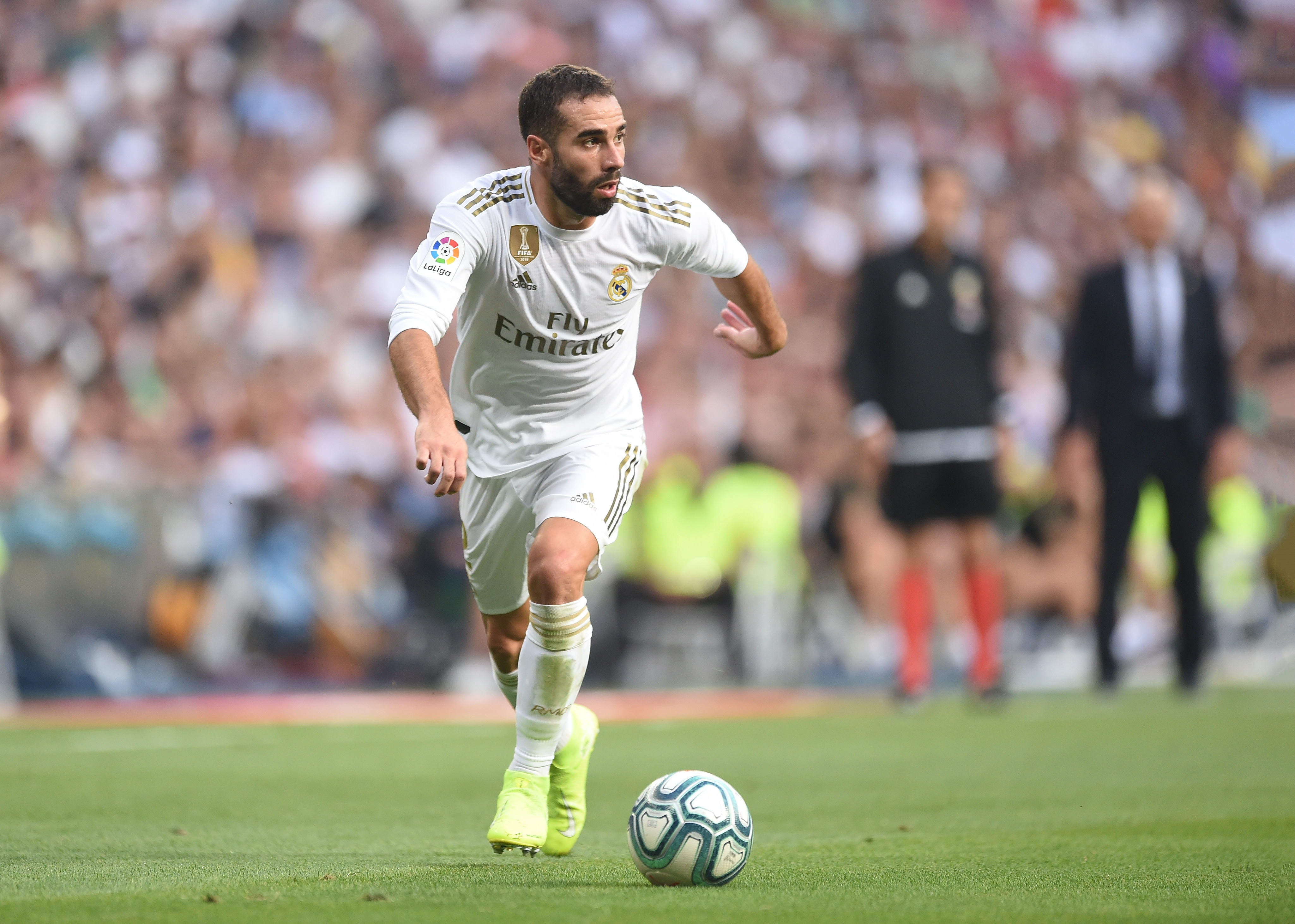 Dani Carvajal will be unavailable for Real Madrid. (Photo by Denis Doyle/Getty Images)