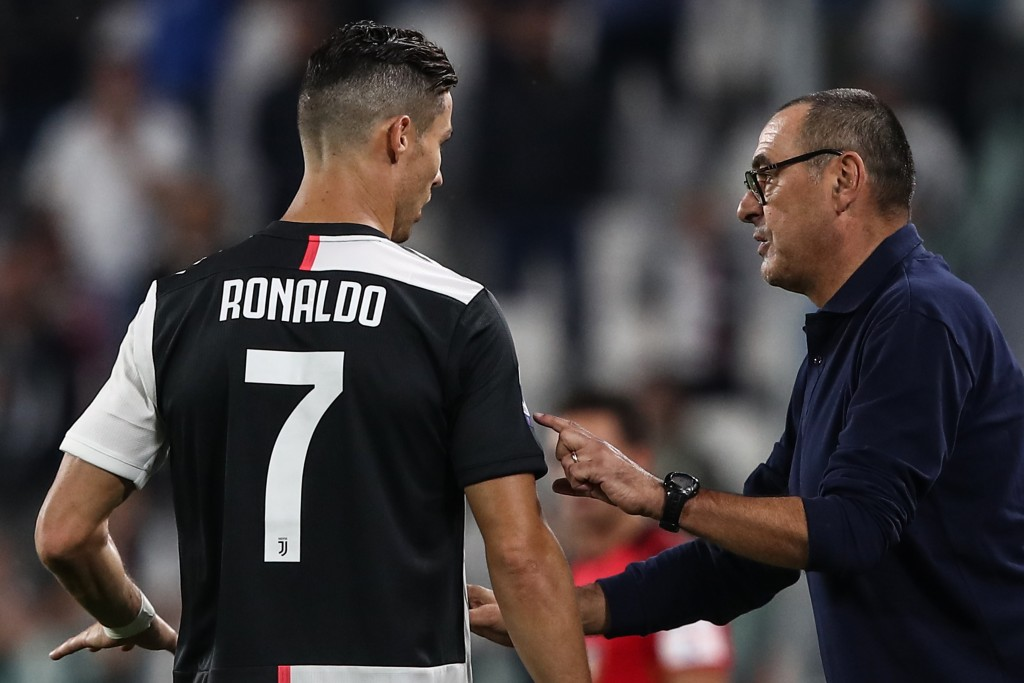 Sarri will be boosted by Ronaldo's return (Photo by ISABELLA BONOTTO/AFP/Getty Images)