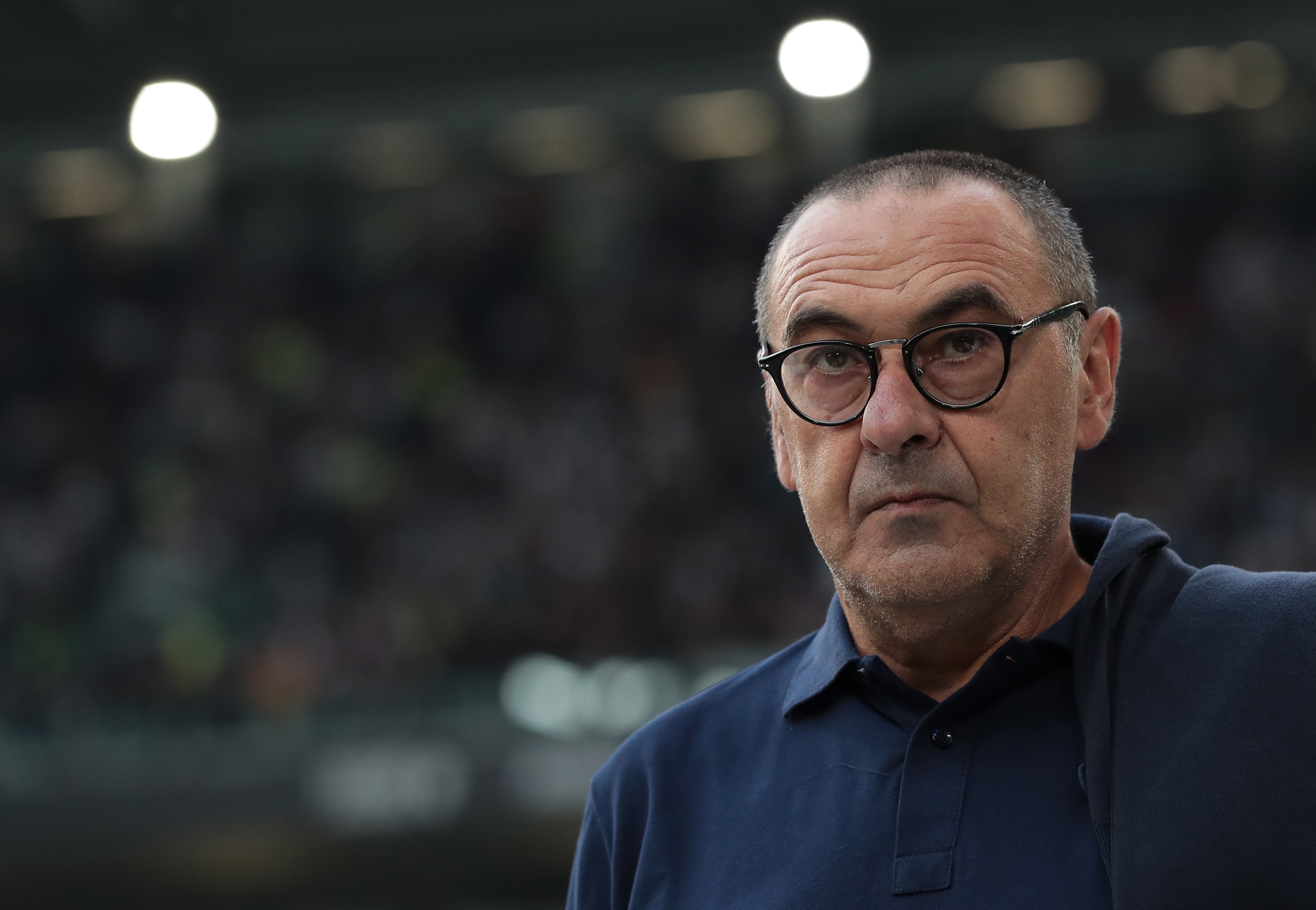 Sarri-ball at the Emirates? (Photo by Emilio Andreoli/Getty Images)