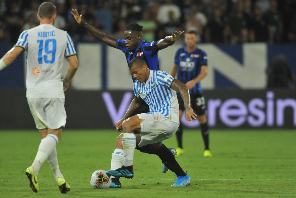 Another Brazilian aiming to be a regular fixture in Serie A. (Picture Courtesy - AFP/Getty Images)