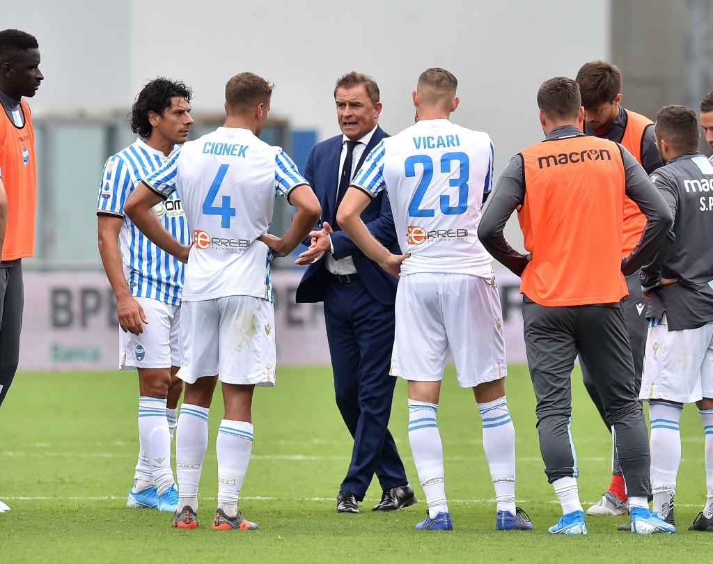 Leonardo Semplici's SPAL have won just once this season (Photo by Giuseppe Bellini/Getty Images)