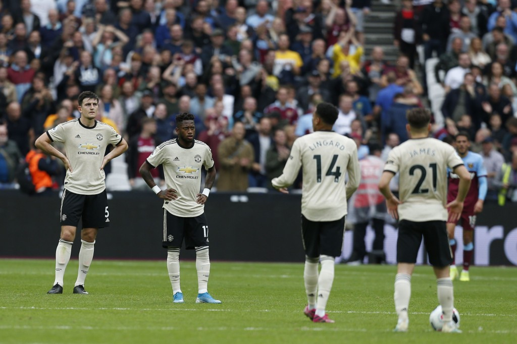 Manchester United were reeling after a difficult start to the season. (Photo by Ian Kington/AFP/Getty Images)