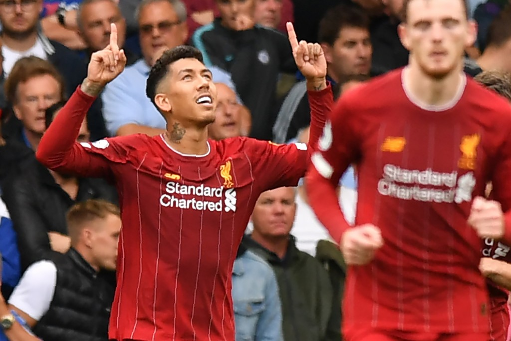 Firmino continued his brilliant run of form in the Premier League. (Photo by Olly Greenwood/AFP/Getty Images)