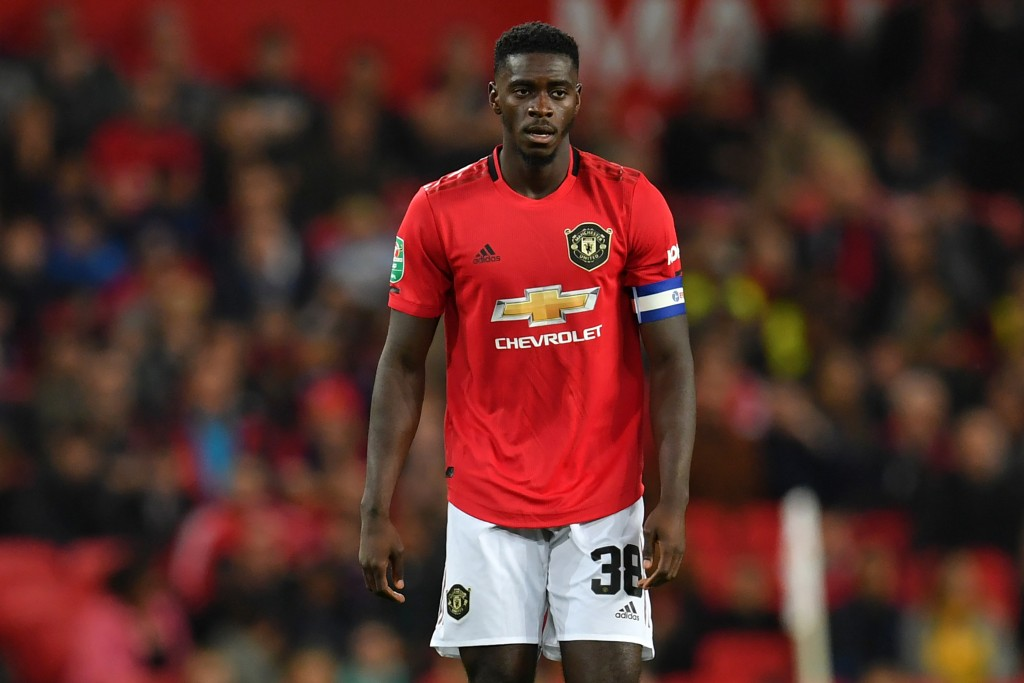 Axel Tuanzebe is ruled out for the rest of the season. (Photo by Paul Ellis/AFP/Getty Images)
