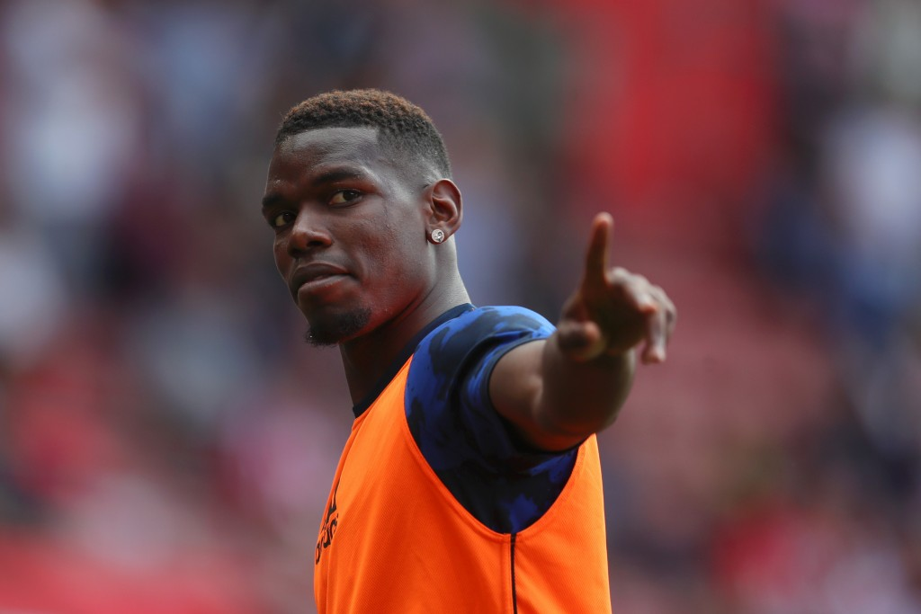 Paul Pogba misses out due to a thigh injury. (Photo by Catherine Ivill/Getty Images)