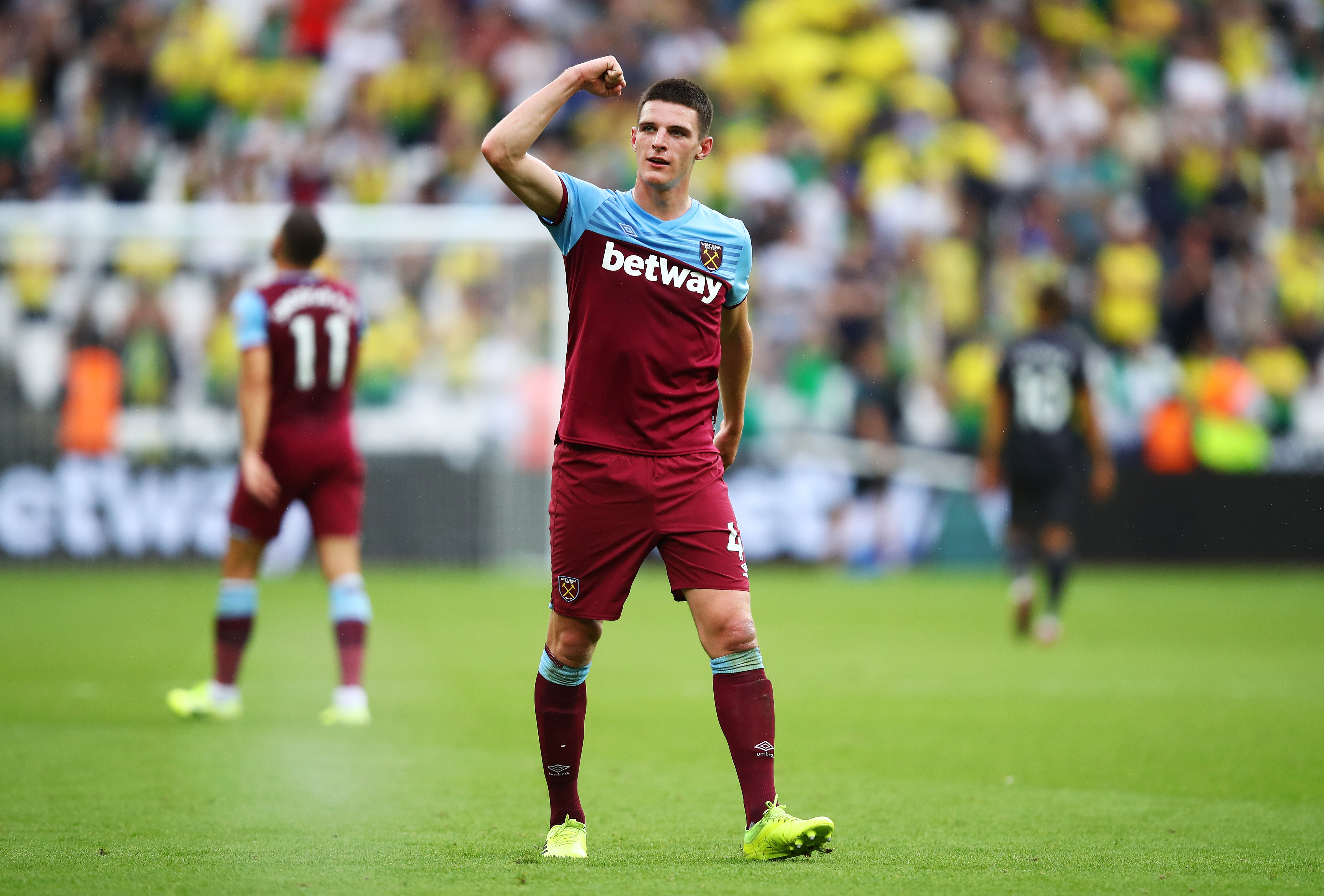 Declan Rice to join Manchester United? (Photo by Julian Finney/Getty Images)