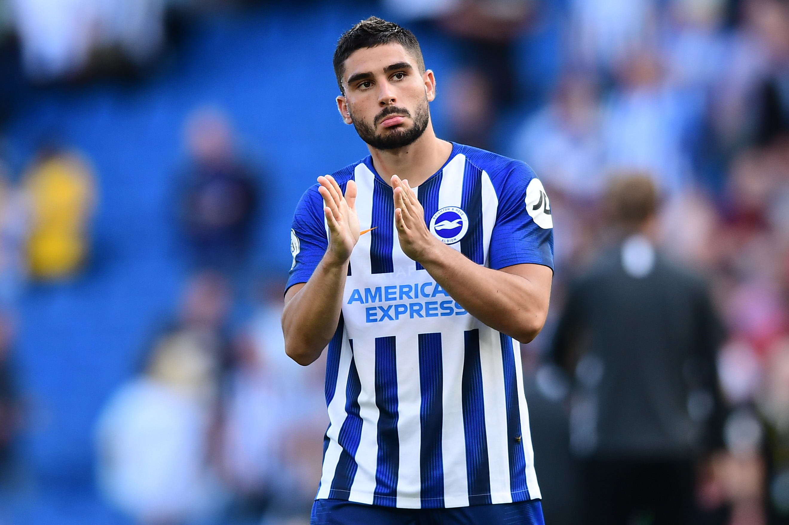 Brighton's main man. (Photo by Alex Broadway/Getty Images)
