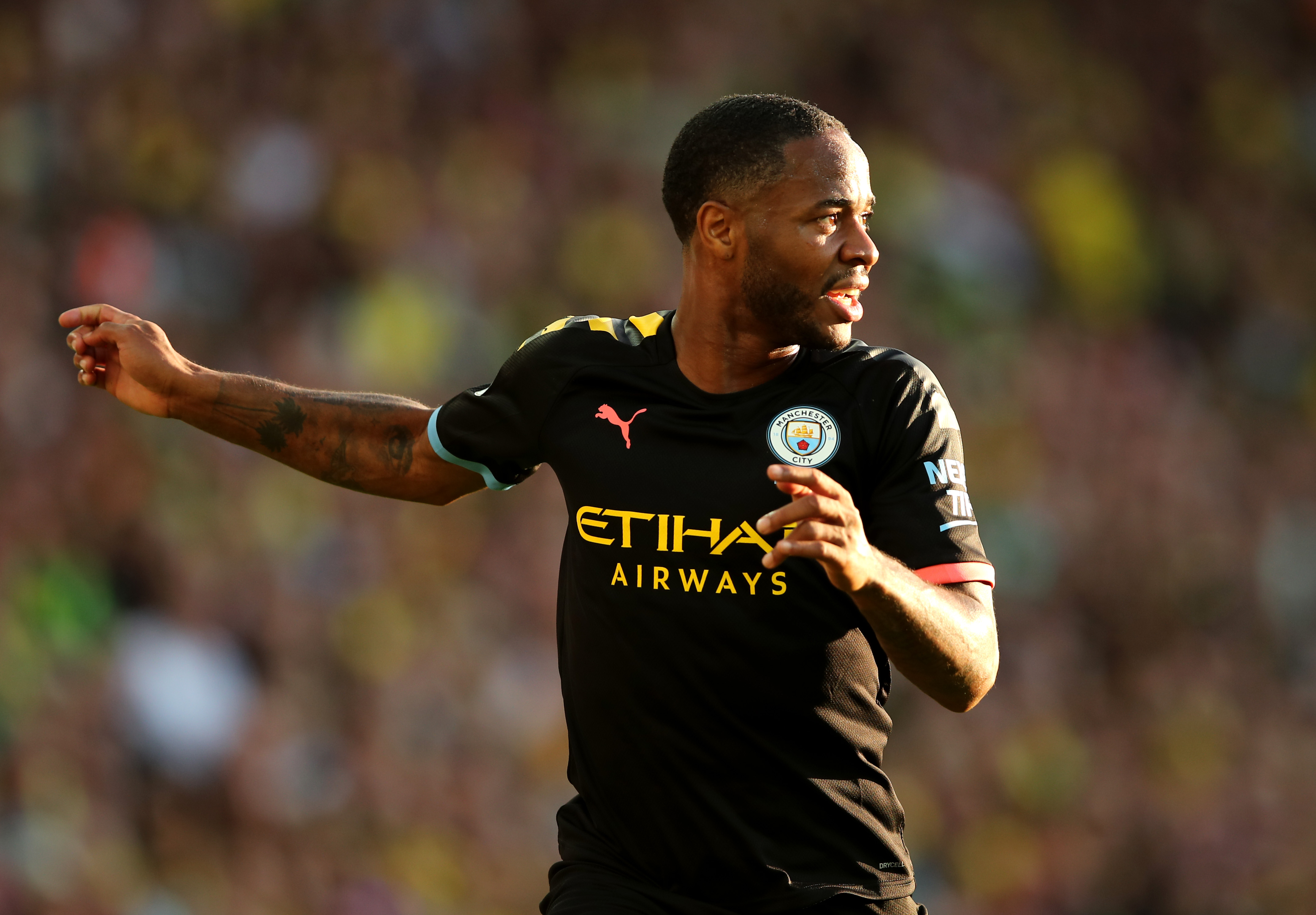 Arsenal keen on signing Raheem Sterling (Photo by Marc Atkins/Getty Images)
