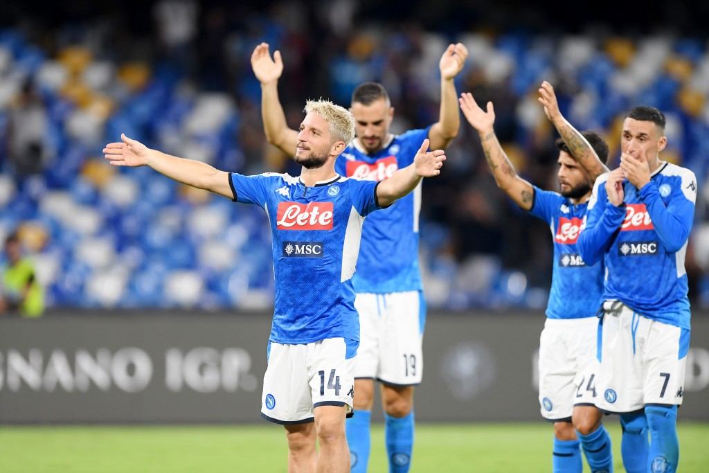 Napoli returned to winning ways this past weekend. (Photo by Francesco Pecoraro/Getty Images)