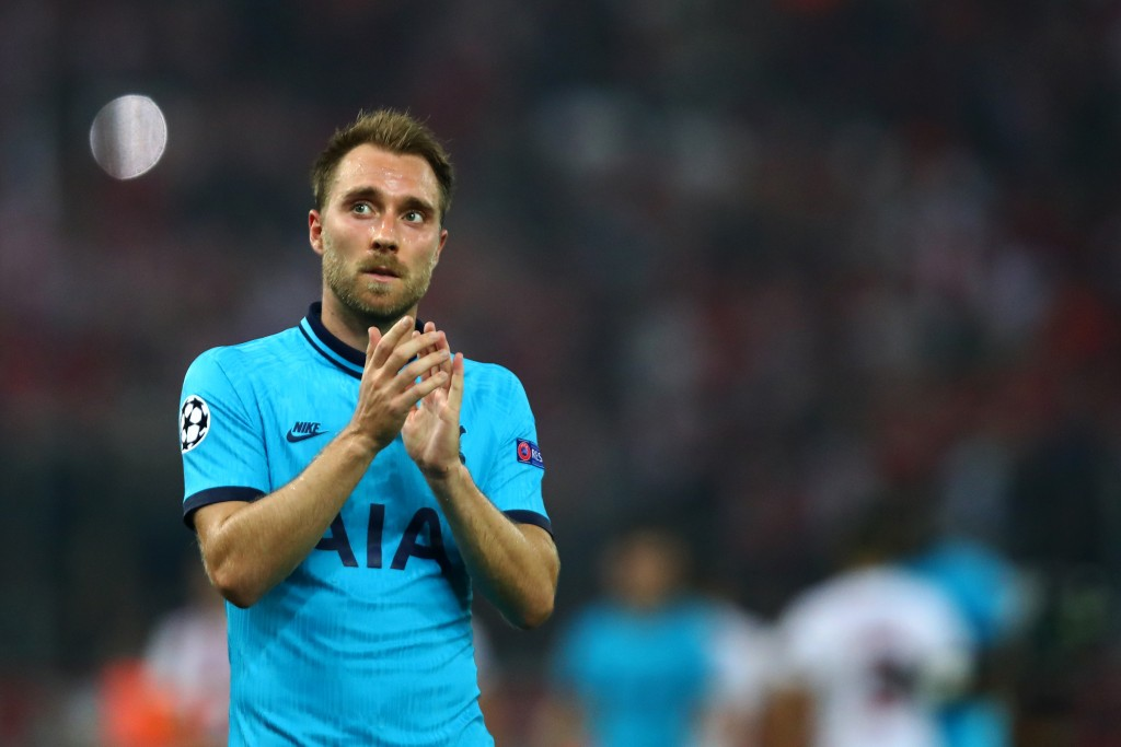 Where next for Christian Eriksen? (Photo by Dean Mouhtaropoulos/Getty Images)