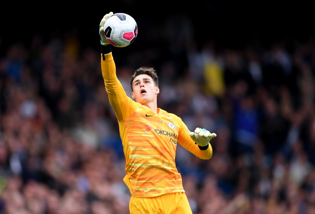 Kepa did all that he could to keep Chelsea in the game. (Photo by Laurence Griffiths/Getty Images)