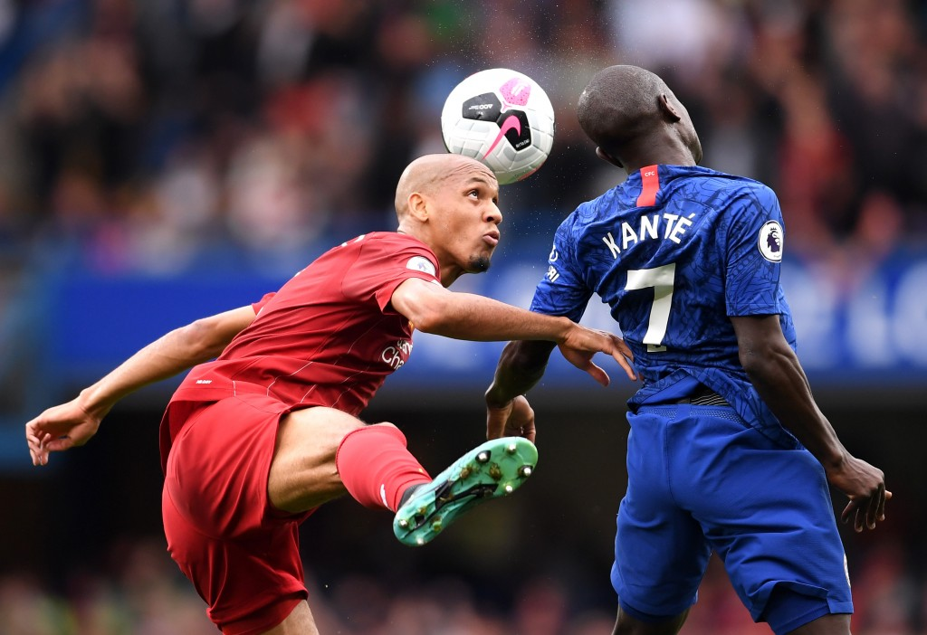 Fabinho was excellent once again. (Photo by Laurence Griffiths/Getty Images)