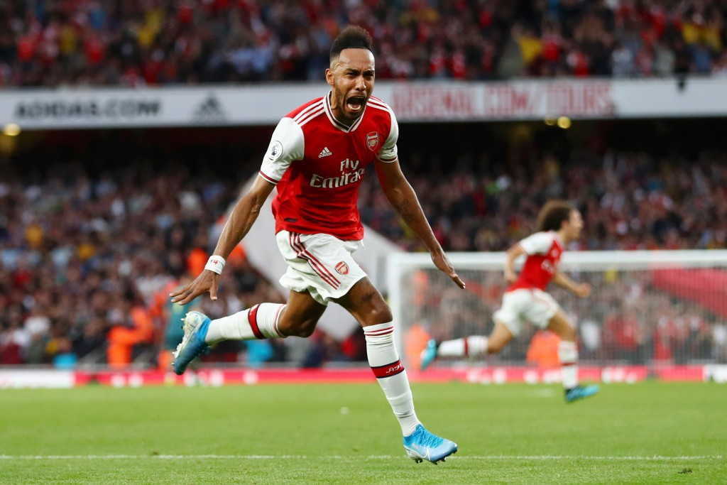 Aubameyang's goals have earned Arsenal all their points this season. (Photo by Michael Steele/Getty Images)