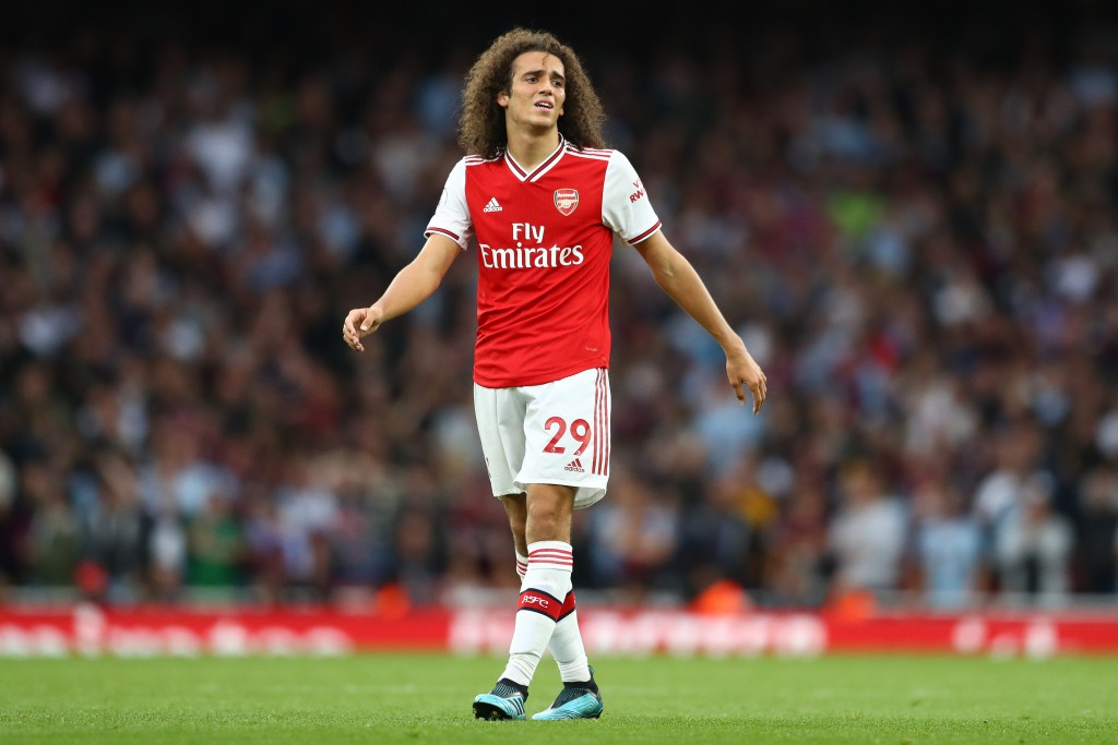 Guendouzi led Arsenal's charge for yet another comeback. (Photo by Michael Steele/Getty Images)