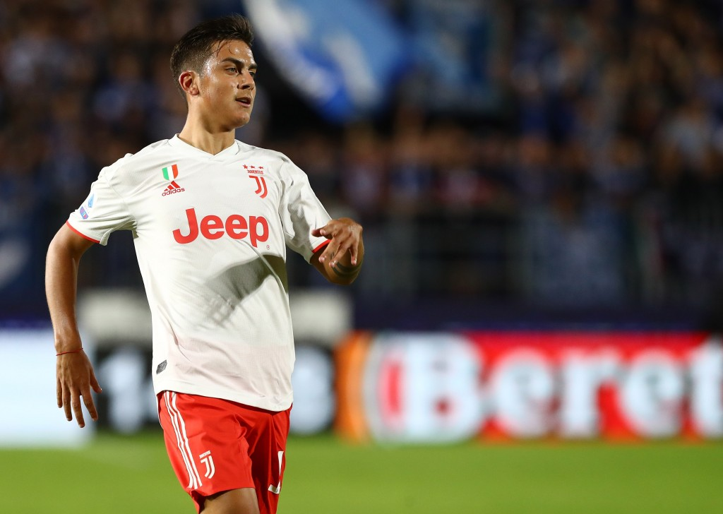 Dybala is yet to score this season (Photo by Marco Luzzani/Getty Images)