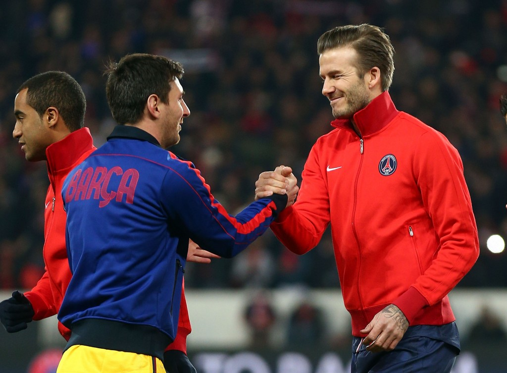 Could Beckham land Messi at Inter Miami? (Photo by Clive Rose/Getty Images)